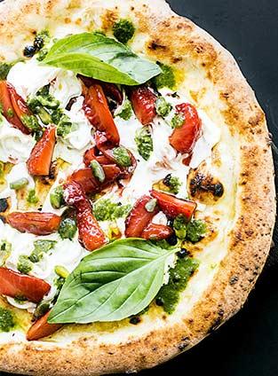 Pizza ricotta saumon oseille (keto)